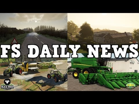 CONSOLE GAME CHANGERS, NEW MAPS, PLUS MODS IN TESTING | FS DAILY NEWS | Farming Simulator 19