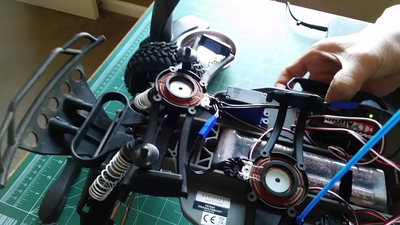 Traxxas Slash On-board Audio (OBA) Hooked Up on