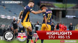 Tipico Bundesliga, 25. Runde: Sk Sturm Graz - Red Bull Salzburg 1:5