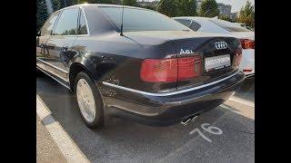 Просмотр Audi A8 L 6.0i W12 quattro 2002 53000км