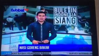 SMOKEY BROTHERS on Buletin Indonesia Siang Global TV. 9 april 2016