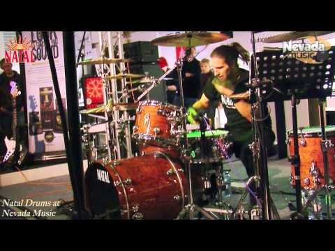 Brian Tichy drum solo at our Natal/Marshall 2011 Clinic
