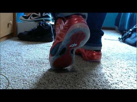 """Nike Air Foamposite One """"Metallic Red"""" W/ Onfoot Review"""
