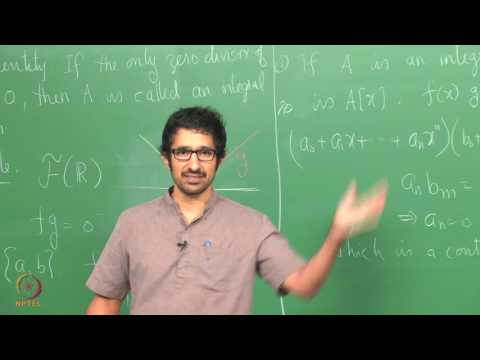 Lecture 2 - Review of Ring Theory (Continued)
