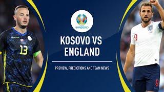 Kosovo v England LIVE Match Reaction Watch along Stream - Euro 2020 football