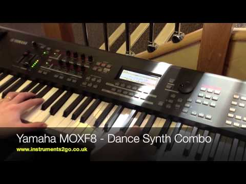 Yamaha MOXF8 vs Korg Krome 88 Comparison Video No Talking Just Playing