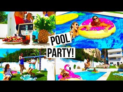 Pool Party: Recettes, Déco & activités!