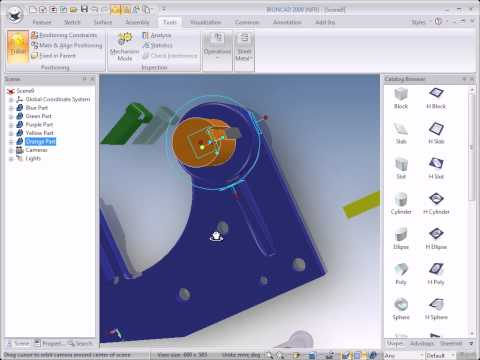 IRONCAD Training  – Triball 1