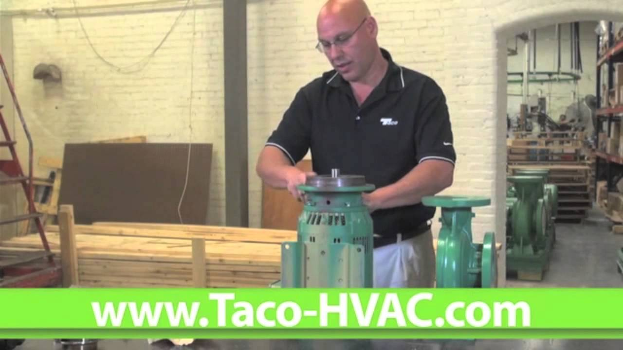 How To Replace The Seal On A Taco Ci Pump Youtube Hvac Wiring Diagram
