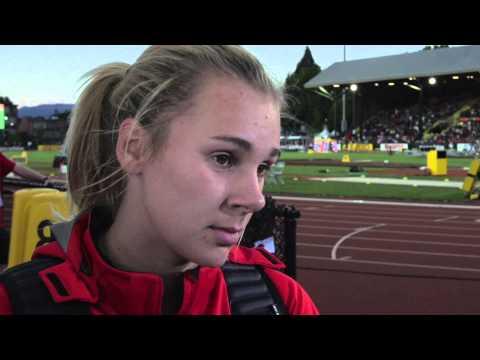 IAAF World Junior Championships 2014 - Sara Kolal CRO Javelin Throw Women Bronze
