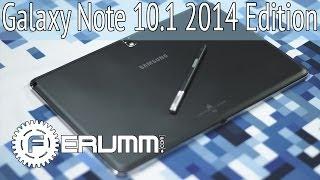 Samsung Galaxy Note 10.1 2014 Edition обзор, фишки и особенности. Подробный видеообзор от FERUMM.COM