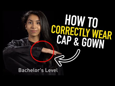 Commencement | How to Properly Wear Your Graduation Gown
