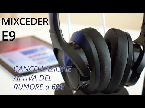 Recensione Mixcder E9, con l'ANC sono perfette per lavorare al PC