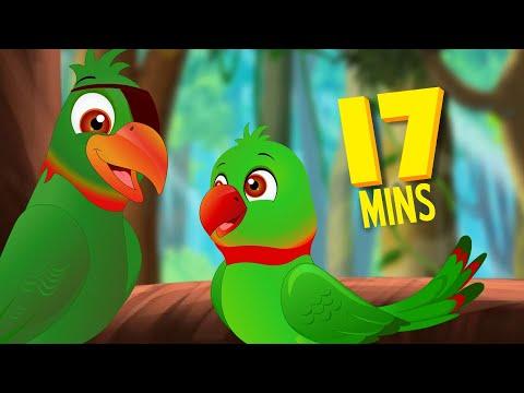 दो तोते की कहानी - Moral Stories | Hindi Stories For Children | Infobells