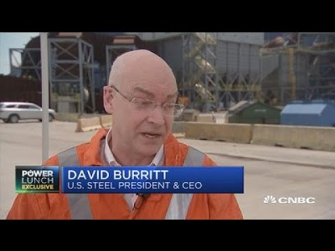US Steel CEO: We've been in a trade war in steel for 30 years
