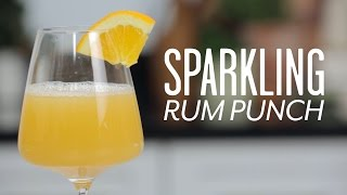 Sparkling Rum Punch for Your Holiday Party  Southern Living