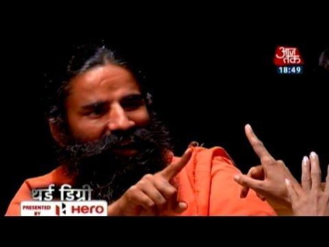 Third Degree with Baba Ramdev