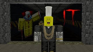 """TRAPPED IN AREA 51 WITH """"IT"""" CLOWN! (Roblox)"""