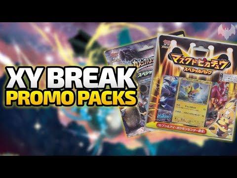 XY BREAK Promo Packs  - Pokemon Trading Card Game - Deutsch German - Dhalucard