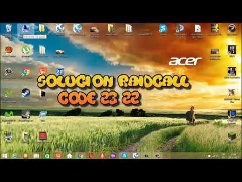 solucion error code 22 y 23 de raidcall