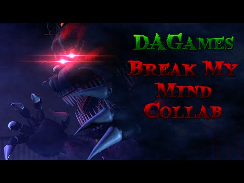 SFM |The Night Of Insanity | DAGames - Break My Mind (Collab w/MineCraftGAMER)