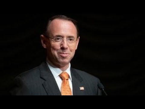 The reason Rosenstein is not acting AG