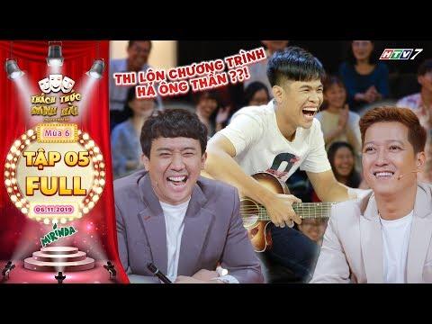 Thách thức danh hài 6 | Tập 5 FULL: Hotboy vuông tôm đàn hay hát giỏi khiến Trường Giang cười lê lết