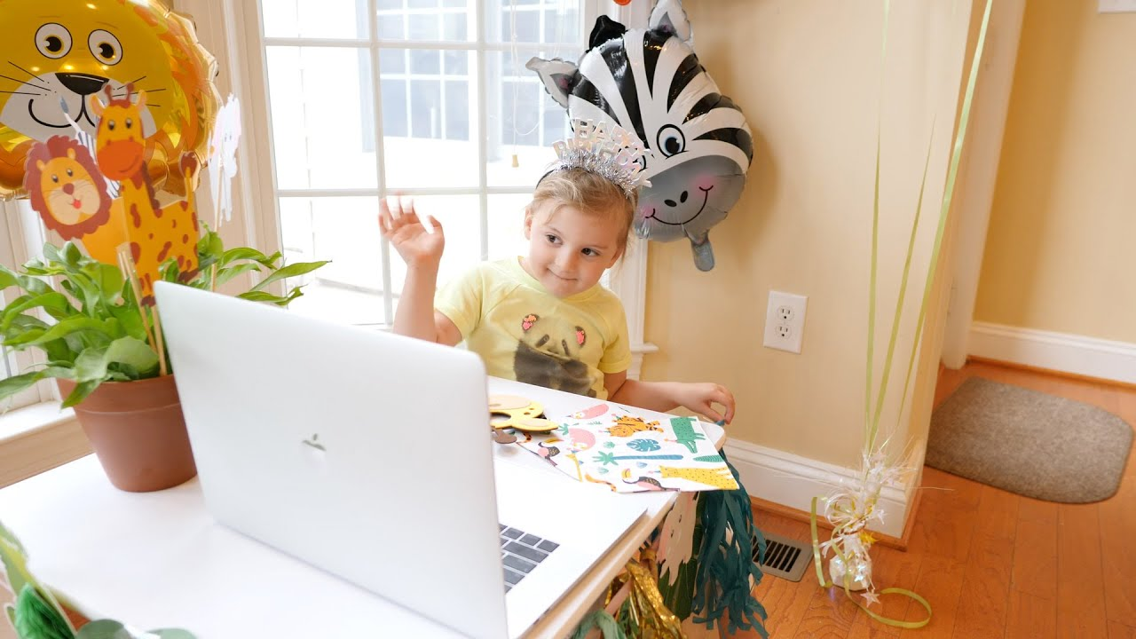 How to Throw a Virtual Birthday Party for Your Kid