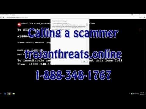 Trojanthreats.online (MotherRoadServices.com) SCAM