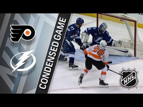 Philadelphia Flyers vs Tampa Bay Lightning – Dec. 29, 2017 | Game Highlights | NHL 2017/18. Обзор