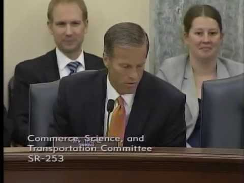 Thune at Commerce on Rail Service Issues