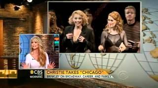 """Christie Brinkley on Broadway's """"Chicago"""""""