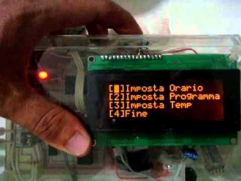 Chronos cronotermostato touch screen da parete vemer doovi for Termostato vemer istruzioni