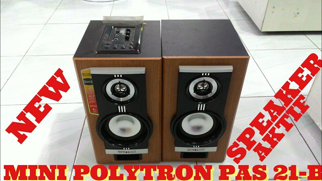Mini Speaker aktif POLYTRON PAS 21M (B) MantapJaya