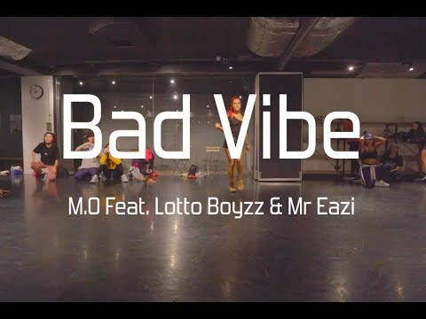 Bianca Dijkhoffz  Bad Vibe - M.O Feat. Lotto Boyzz & Mr Eazi  @En Dance Studio SHIBUYA