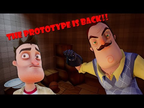 THE PROTOTYPE IS BACK! (Hello Neighbor Prototype Fan Build) thumbnail
