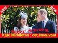 Kate: cet émouvant détail qui anéantit d'un seul coup la rumeur d'infidélité du William
