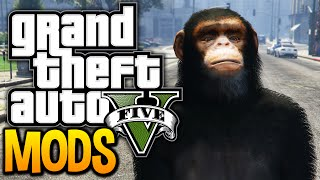 GTA 5 - BREAKING THE GAME WITH MODS! (GTA 5 Funny Moments w/ PC Mods)