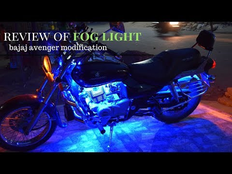 Evening ride with bro to suva hotel | review of fog light