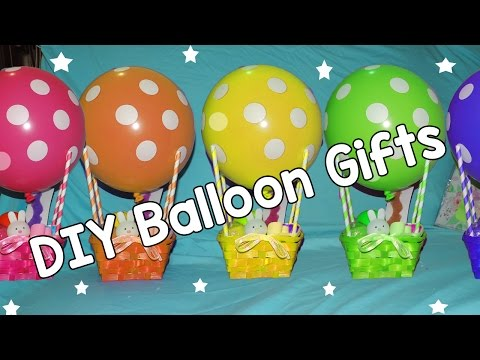 Hot Air Balloon gift baskets