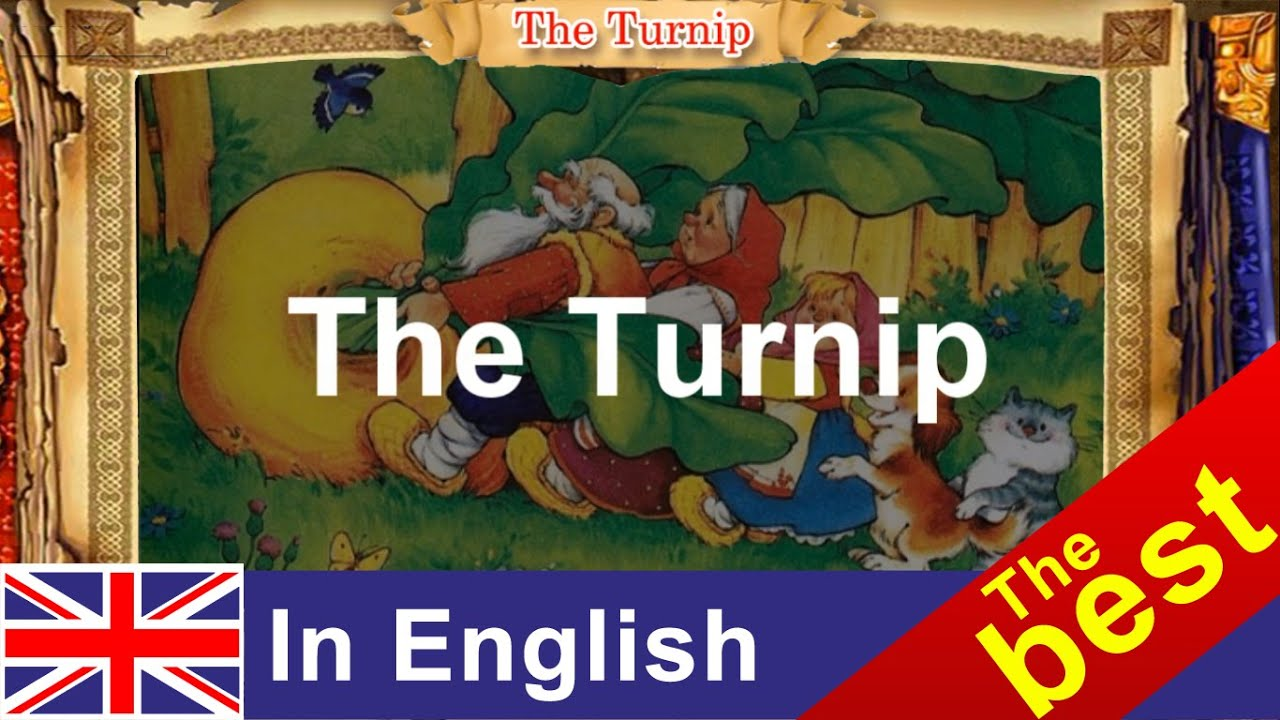 Урок на английском языке по сказке репка