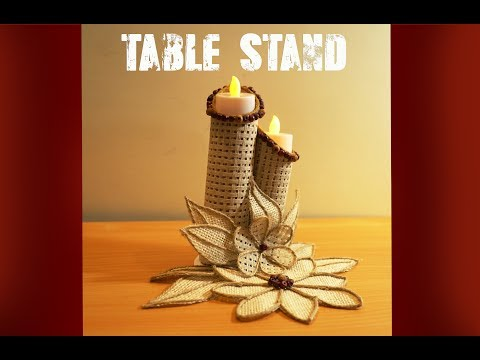 How To Make a Beautiful Multi Purpose Table Stand   DIY   Apna Craft