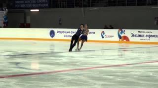 14  3 й Этап КР 2014 15, Танцы КМС, Евдокимова Базин КТ