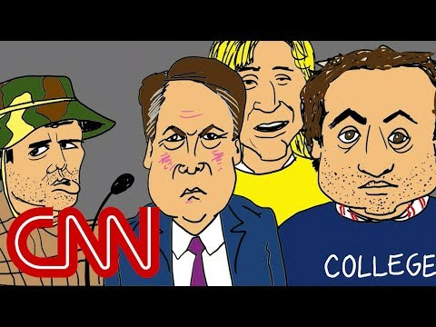 Drawn by Jake Tapper: The Kavanaugh hearing