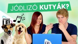 Jódlizó kutyák?! Az 1 millió feliratkozós játszma DoggyAndival és IceBlueBirddel | Játsszuk le!