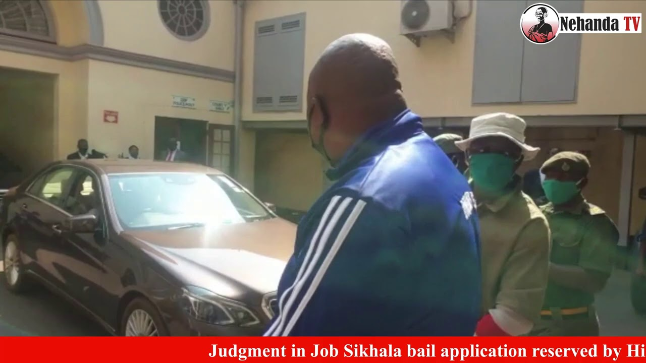 Job Sikhala brought to High Court in leg irons
