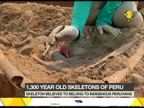 Ancient remains discovered from burial ground in ancient city of Maranga