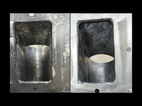 Metalinių pramoninių įrenginių valymas sausu ledu