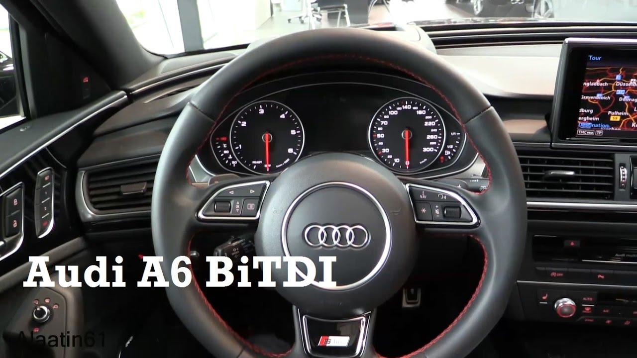 2017 audi a6 interior review youtube. Black Bedroom Furniture Sets. Home Design Ideas