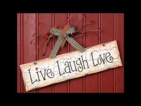 Popular Live Laugh Love Wall Decor